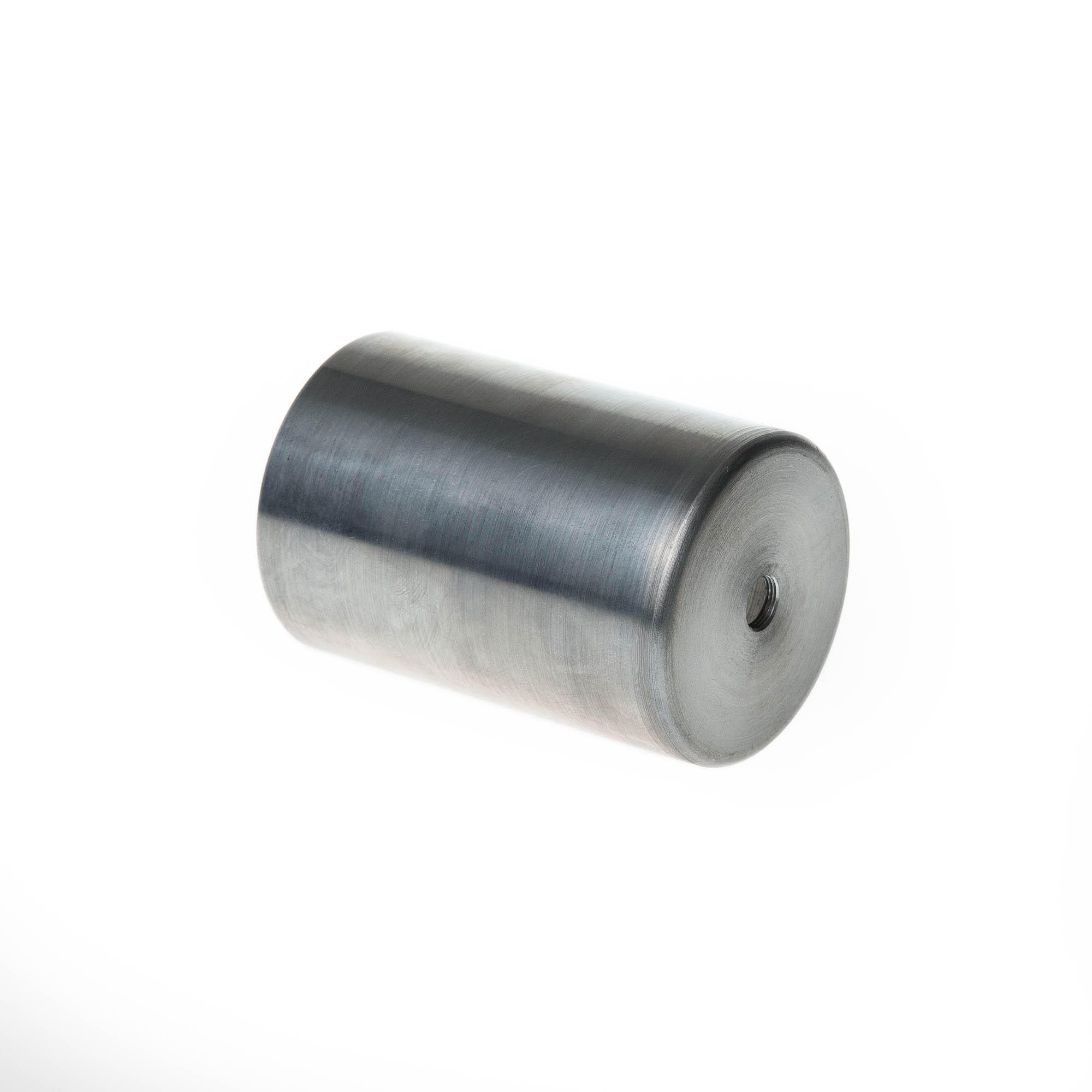 metal spinning sample cylindrical machine cover with indent steel